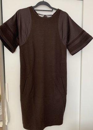 Bottega Veneta Vestido de lana marrón oscuro Lana