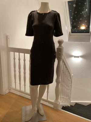 Burberry Brit Knitted Dress grey wool
