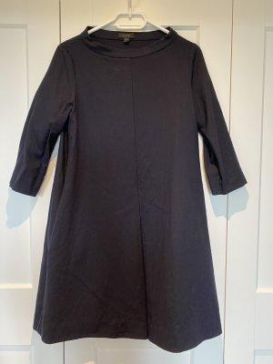COS Wollen jurk donkerblauw Wol