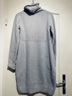 COS Vestido de lana azul celeste-azul claro