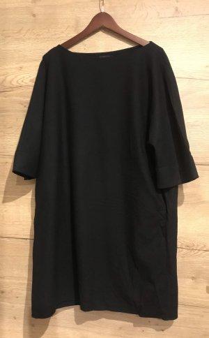 COS Robe en laine noir