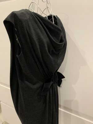 Lanvin Woolen Dress anthracite