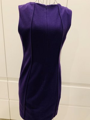 Steffen Schraut Woolen Dress dark violet