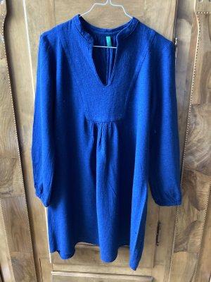 Benetton Vestito di lana blu
