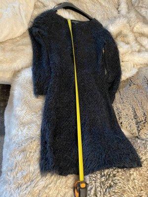 Ana Alcazar Robe en laine vert foncé-noir