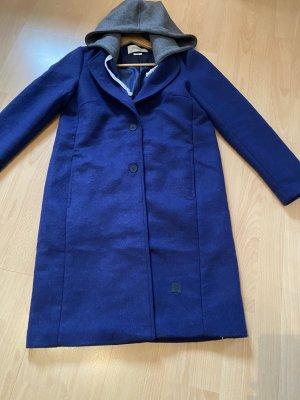 Marc O'Polo Manteau en laine bleu foncé-bleu