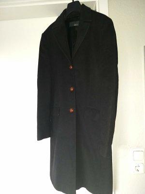 Jake*s Abrigo de lana negro lana de angora