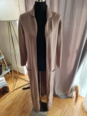 East Robe manteau gris brun-marron clair