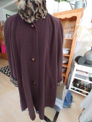 Fuchs Schmitt Wool Coat brown-dark brown
