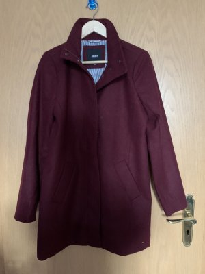 Object Cappotto in lana bordeaux