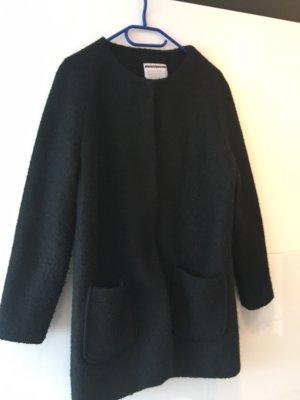 Stitch & Soul Abrigo de lana negro