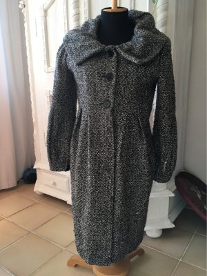 1.2.3 Paris Wool Coat black-light grey