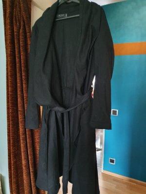 Religion Manteau en laine noir
