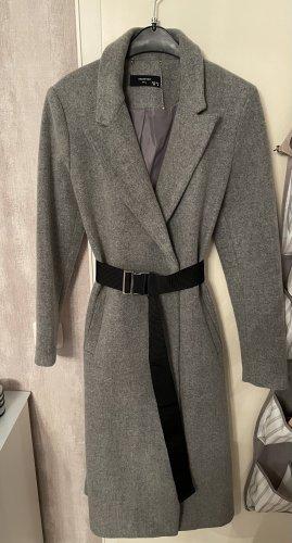 Reserved Wool Coat grey wool