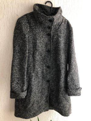 C&A OUTERWEAR Wełniany płaszcz Wielokolorowy