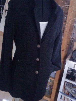 Laura Lardini Wool Coat anthracite