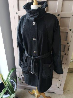 Biba Cappotto in lana nero