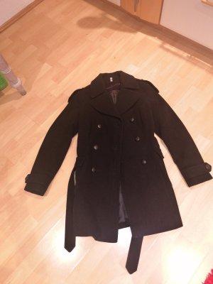 Cappotto in lana nero