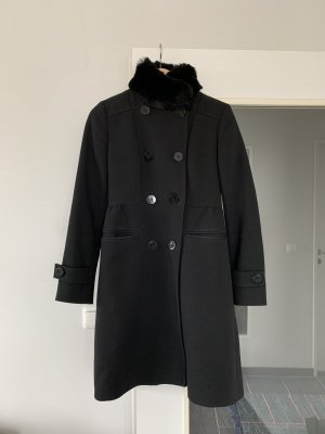 cerruti 1881 Wool Coat black