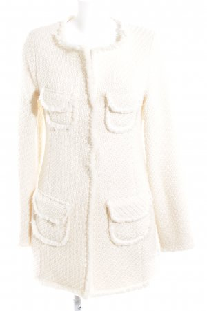 Wollmantel creme Casual-Look