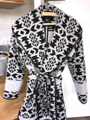 Dept Wool Coat black-light grey