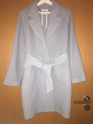 Edited Abrigo de lana azul celeste