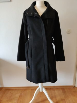 Koton Gabardina tipo vestido negro