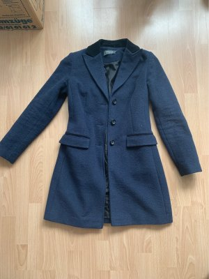 Coercion Wool Coat dark blue-black