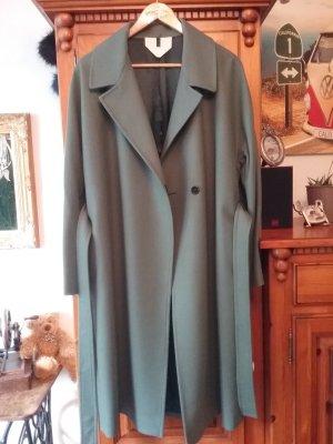 ARKET Abrigo ancho verde grisáceo