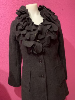 Ancora Wool Coat black