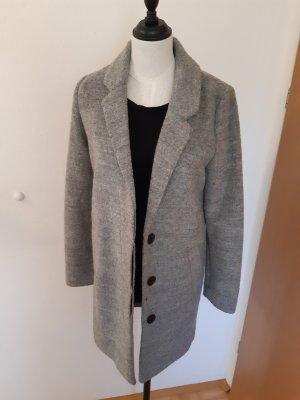 H&M Divided Wool Coat light grey-grey
