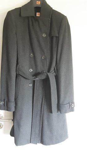 Boss Orange Abrigo de lana gris oscuro-gris antracita