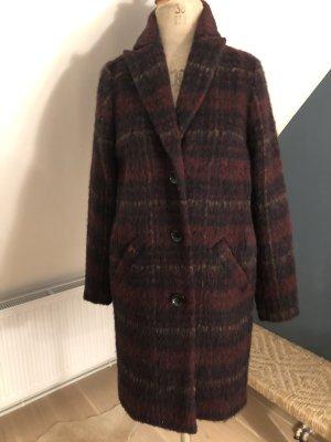 Sienna Cappotto in lana multicolore