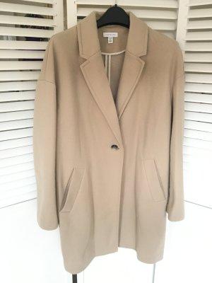 Wollmantel/klassischer Mantel in Beige