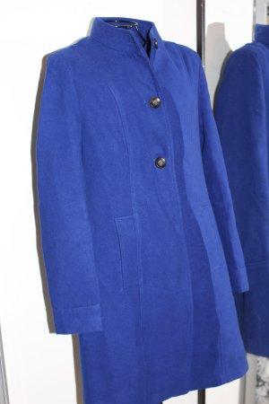 Assuili Płaszcz zimowy niebieski Wełna