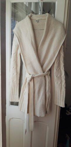 Garcia Robe en laine blanc cassé