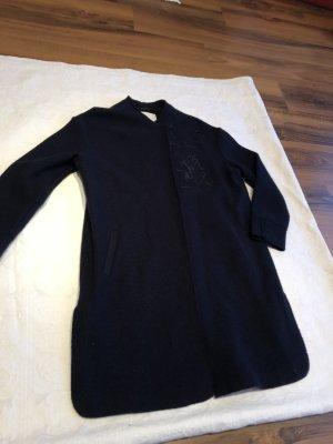 talk about Cappotto in lana nero-blu scuro