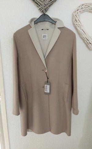 Cinzia Rocca Cappotto in lana color cammello