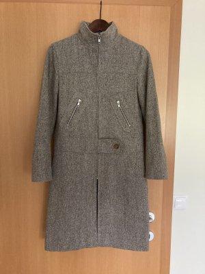 andere Marke Manteau en laine gris