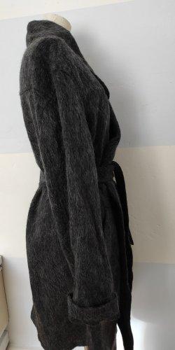 someday Wollen jas donkergrijs-antraciet