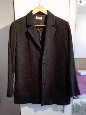 Olsen Collection Abrigo de lana gris oscuro