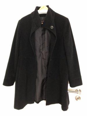 Classic Short Coat black wool