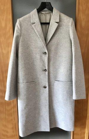 COS Wool Coat light grey wool