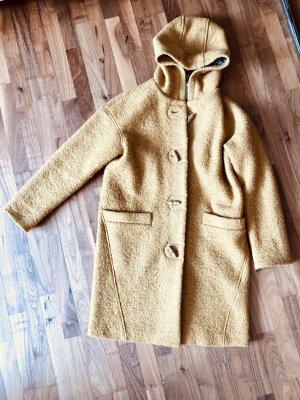 edc Veste en laine ocre-orange doré