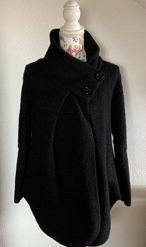 new collection Wollen jas zwart