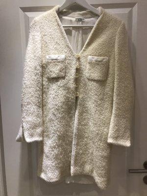 Wool Coat natural white