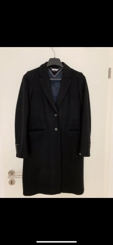 Tommy Hilfiger Manteau en laine noir