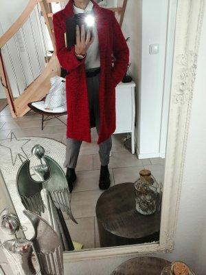 Garcia Jeans Płaszcz zimowy czerwony neonowy-ceglasty