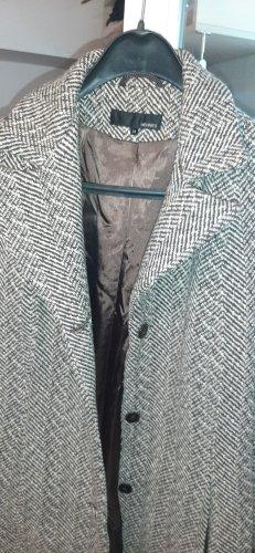hennes Wełniany płaszcz brązowy