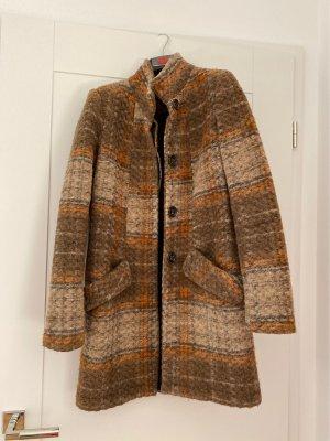 Mango Manteau en laine multicolore